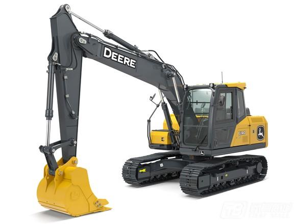 约翰迪尔E140LC履带挖掘机
