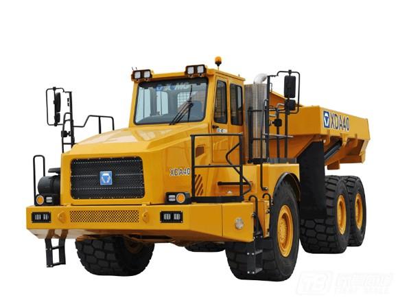 徐工XDA40铰接式自卸卡车