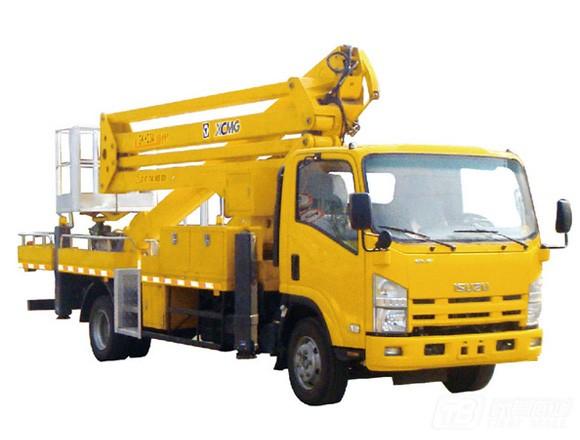 徐工XZJ5091JGK混合臂高空作业车