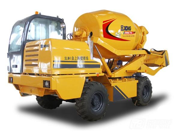 徐工SLM4自上料搅拌运输车混凝土搅拌运输车