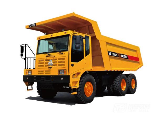 三一SKT70AT宽体自卸车