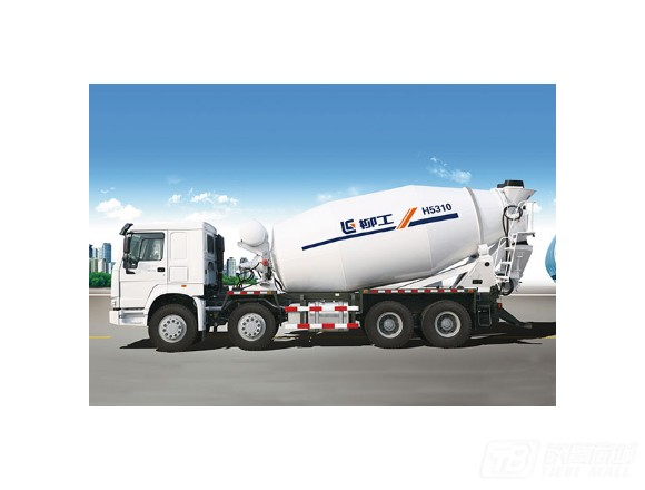 鸿得利CLGTM412E混凝土搅拌运输车