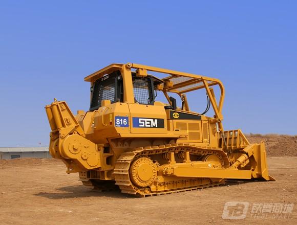 山工SEM816森林型推土机图片