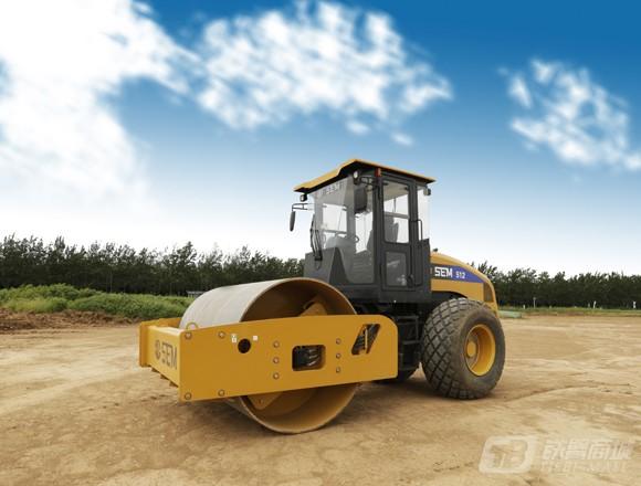 山工SEM512单钢轮压路机
