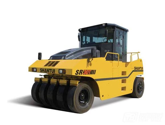 山推SR30T/SR30T-3胶轮压路机