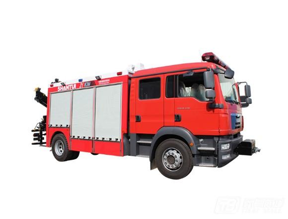 山推JY80M消防车