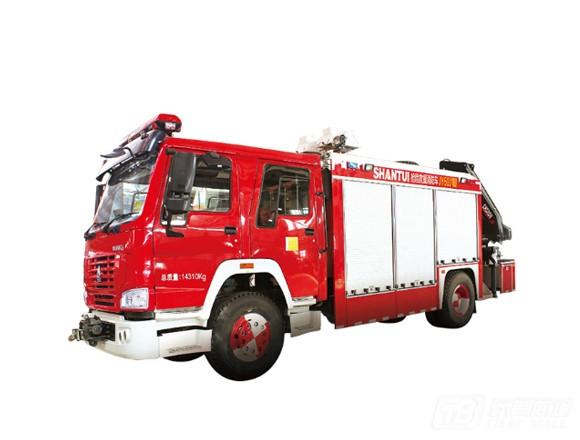 山推JY60J消防车