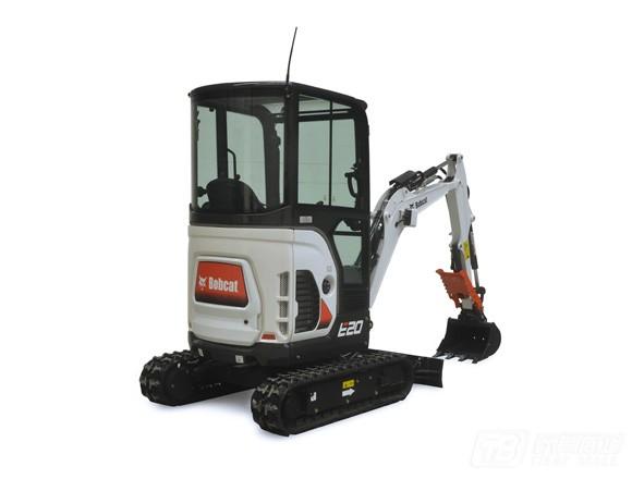 山猫E20履带挖掘机