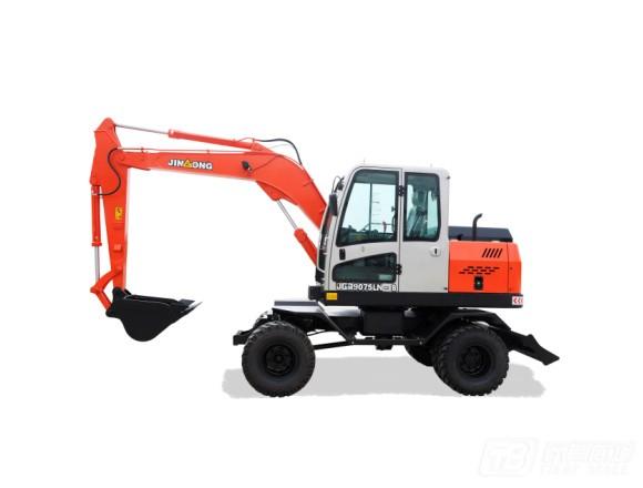 晋工JGM9075LN-8轮式挖掘机