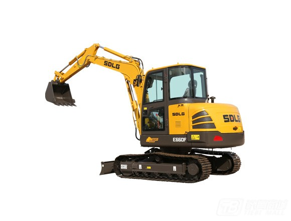 山东临工E660F履带挖掘机