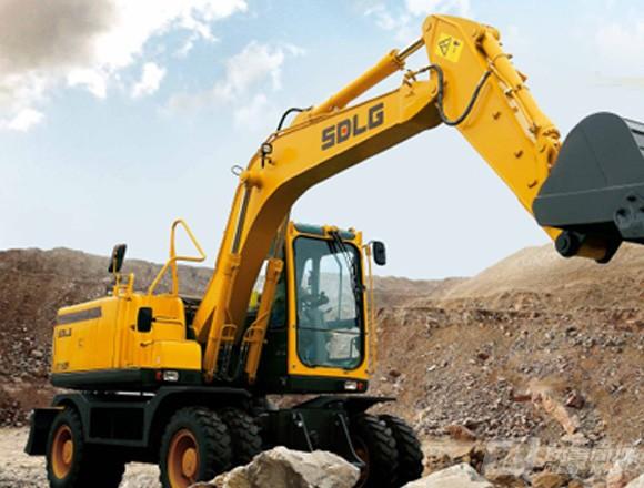 山东临工E7150F轮式挖掘机