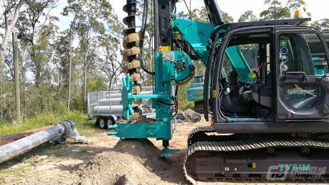 泰信机械KR80M旋挖钻机外观图7