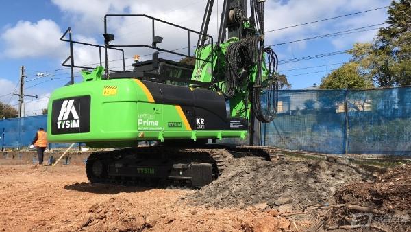泰信机械KR90M旋挖钻机外观图5