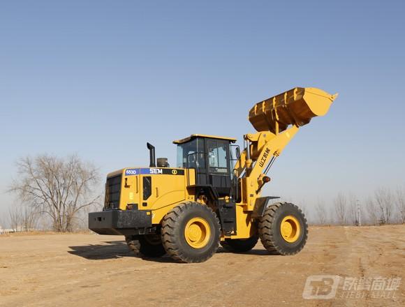 山工SEM653D轮式装载机