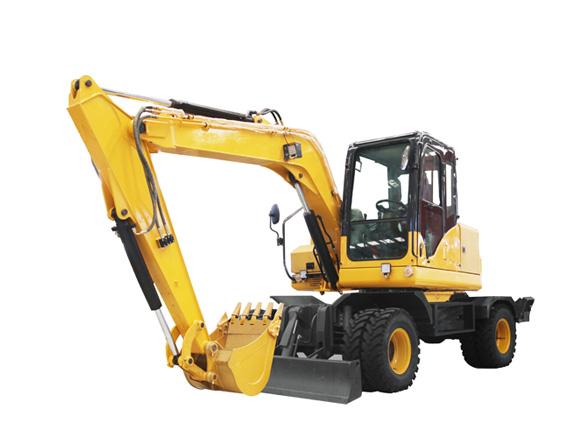 德工DG680轮式挖掘机图片