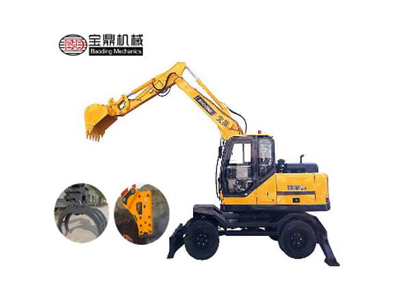 宝鼎BD95W-9轮式挖掘机图片