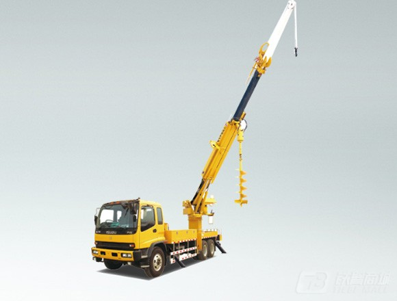 海伦哲XHZ5200TXGD5东风21m线杆综合作业车