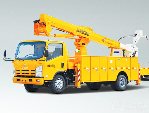 海伦哲XHZ5100JGKQ5庆铃17.1m绝缘臂高空作业车