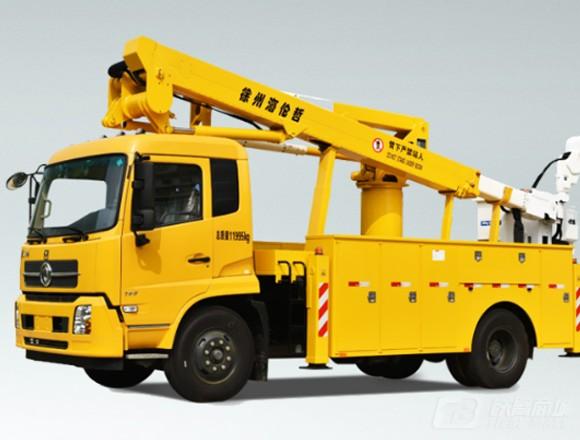 海伦哲XHZ5120JGKD5东风19.2m绝缘臂高空作业车