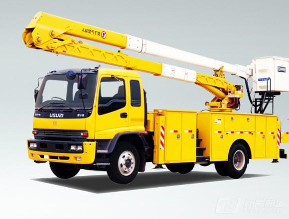 海伦哲XHZ5140JGKD5东风20.5m绝缘臂高空作业车