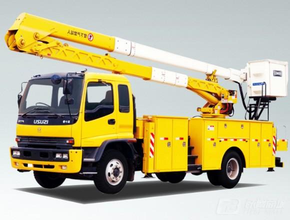 海伦哲XHZ5140JGKQ5庆铃20.5m绝缘臂高空作业车