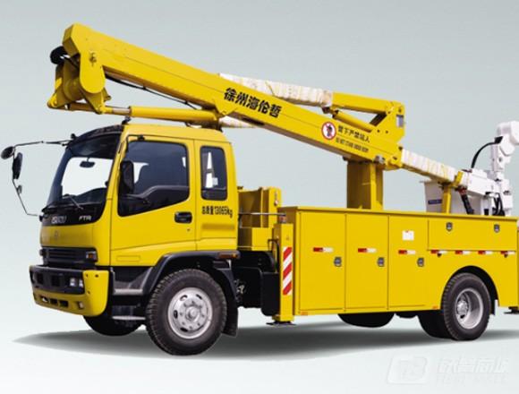 海伦哲XHZ5131JGKQ5庆铃20.6m绝缘臂高空作业车
