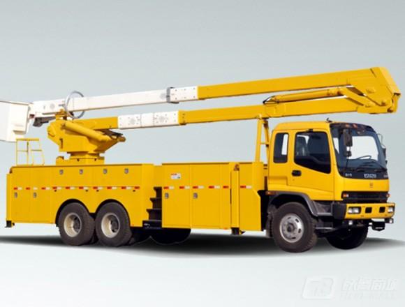 海伦哲XHZ5210JGKQ5庆铃25.4m绝缘臂高空作业车