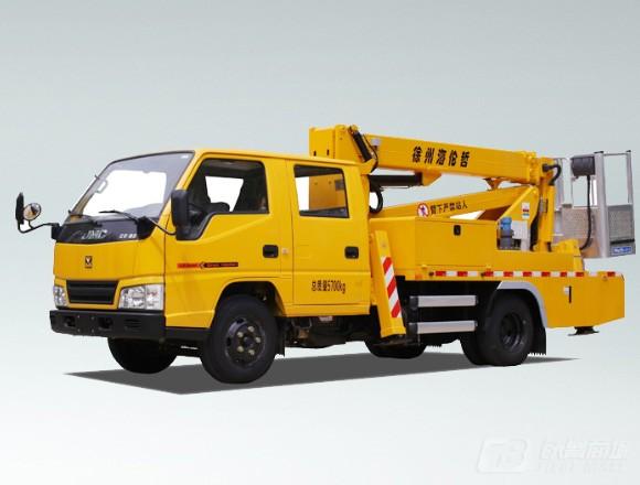 海伦哲XHZ5061JGKJ5江铃14m混合臂高空作业车