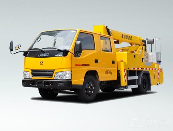 海伦哲XHZ5061JGKJ5江铃16m混合臂高空作业车