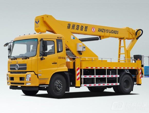 海伦哲XHZ5151JGKD5东风29m混合臂高空作业车