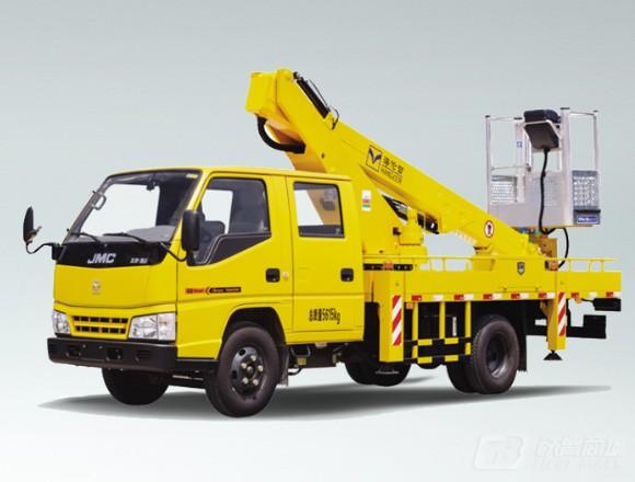 海伦哲XHZ5066JGKJ5江铃16.2m伸缩臂高空作业车图片