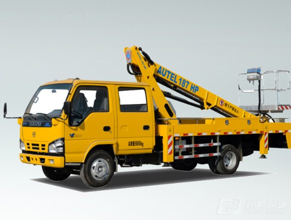 海伦哲XHZ5060JGKQ5庆铃17.8m伸缩臂高空作业车图片