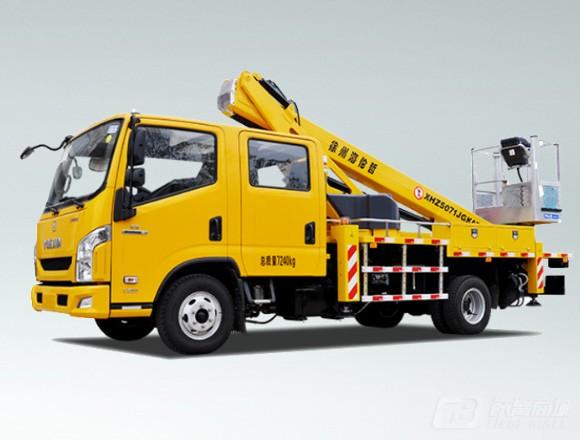 海伦哲XHZ5071JGKA5跃进18m伸缩臂高空作业车图片