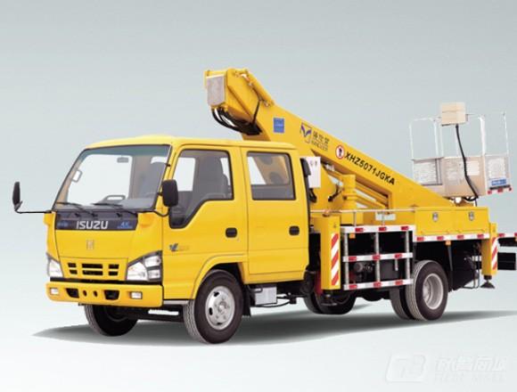 海伦哲XHZ5071JGKQ5庆铃18m伸缩臂高空作业车图片