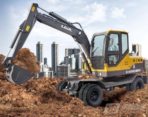 临工金利EW680BM轮式挖掘机
