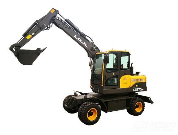 临工金利EW670BM轮式挖掘机