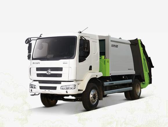 中联重科ZLJ5160ZYSLZE5后装压缩式垃圾车