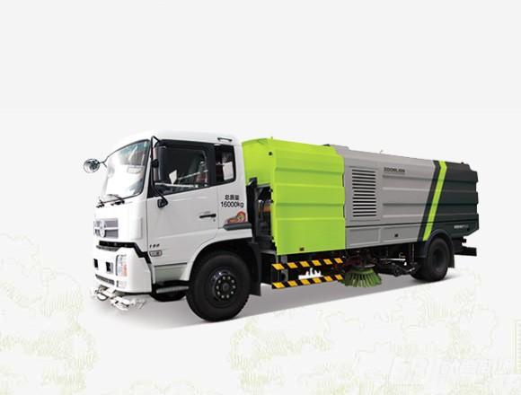 中联重科ZLJ5160TXSEQE5NG (LNG)环保型干式扫路车