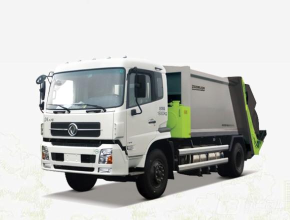 中联重科ZLJ5160ZYSEQE5NG压缩式垃圾车