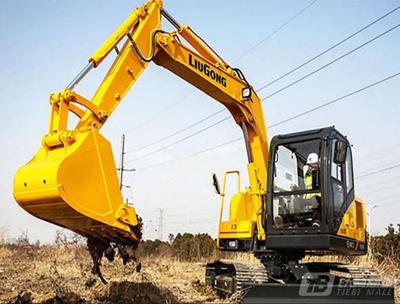 柳工CLG910D(国三)履带挖掘机