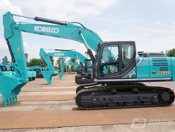 神钢SK220XD-10履带挖掘机