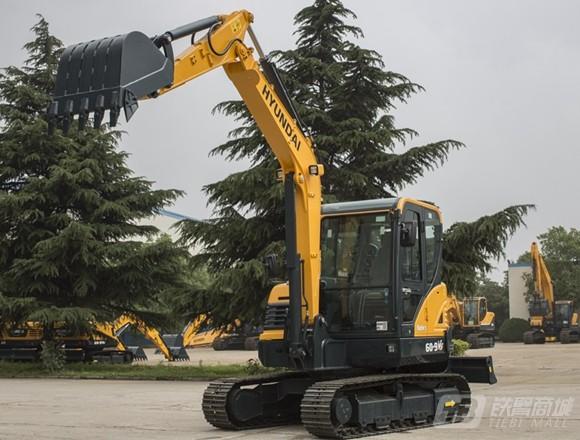 现代R60-9VS挖掘机