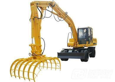 沃尔华DLS118-9A轮式挖掘机