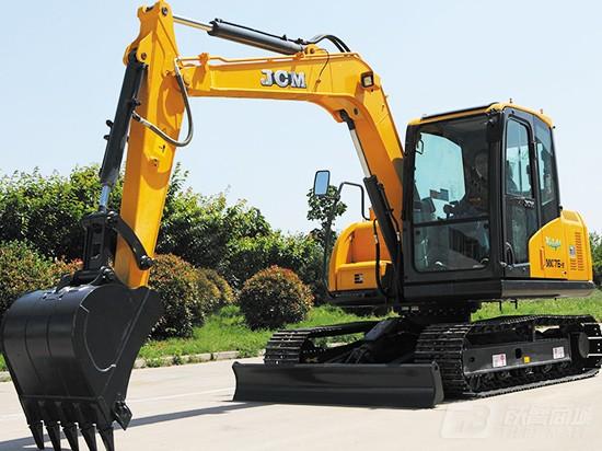 山推MC76-9履带挖掘机
