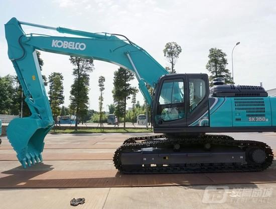 神钢SK350LC-10履带挖掘机