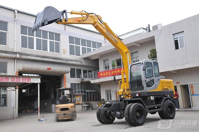 劲工JG-100S轮式挖掘机