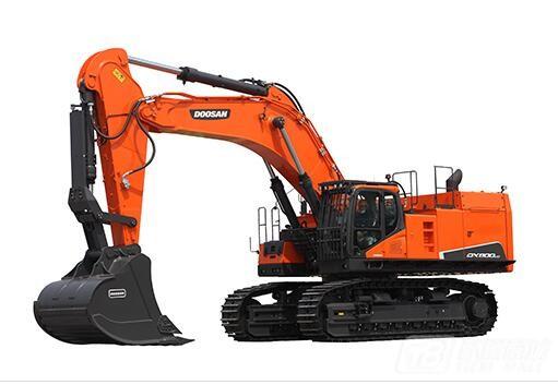 斗山DX800LC-9C履带挖掘机