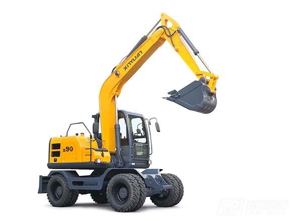 新源机械XYB90轮式挖掘机