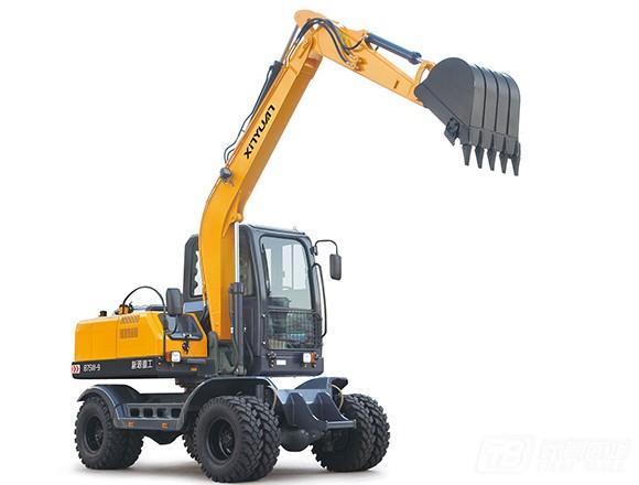 新源机械XYB75W-9轮式挖掘机