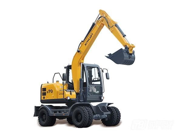 新源机械XYB70轮式挖掘机